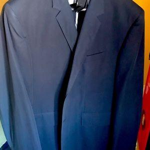New NAVY BLUE Club Monaco blazer w/white buttons